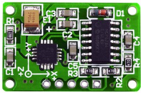 mikroElektronika MIKROE-254, Three-Axis Accelerometer Board ...